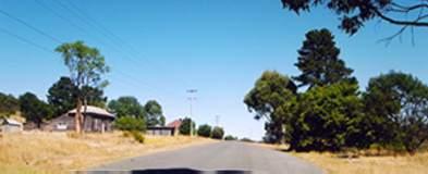 Deddington, Tasmania, Looking West