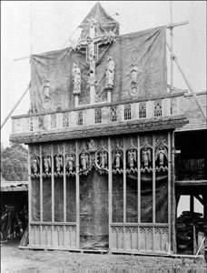 Franklin chancel screen built for Hobart Cathedral, Tasmania