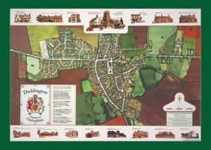 Deddington map