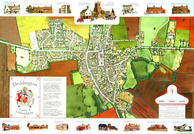 Deddington Millennium Map