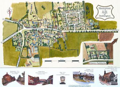 Hempton Millennium Map
