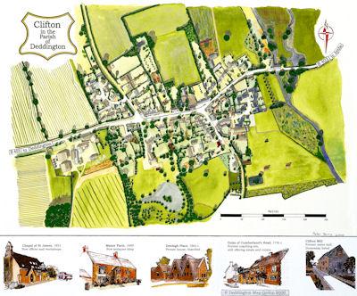 Clifton Millennium Map