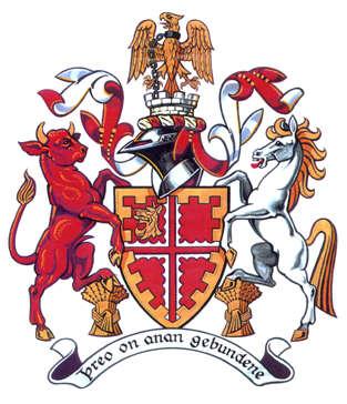 Armorial Bearings of the Parish Council of Deddington